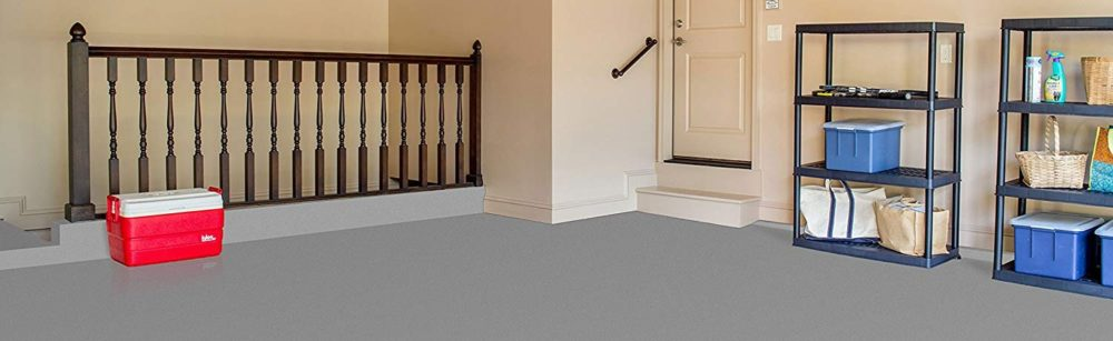 For Garage Floors and Driveways