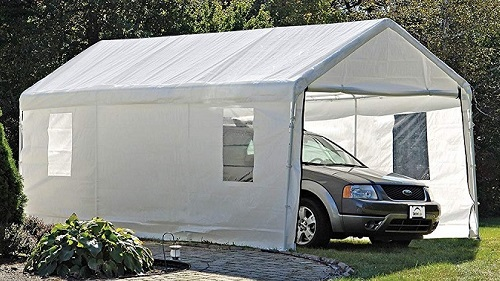Best Portable Garages: Heavy Duty Designs for your Car or ...