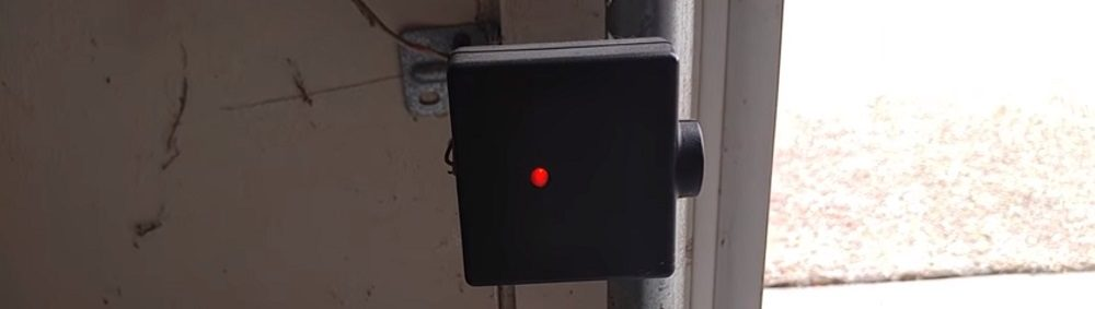Garage Doors Safety Sensors Behind Garage Doors